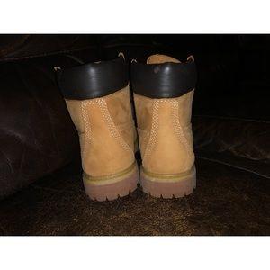 Timberland boots size 7.5 girls